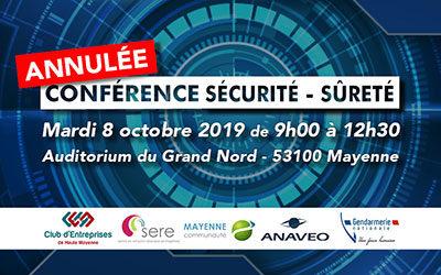 Conférence Sécurité & Sûreté