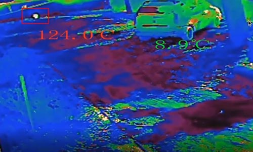 Détection des fluctuation de température