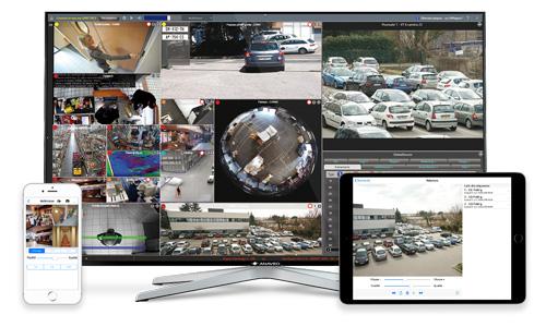 Vidéosurveillance et Vidéoprotection avec ANAVEO