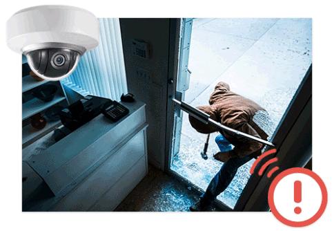 association alarme et camera video