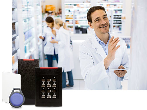 exempel de contrôle d'accès en pharmacie