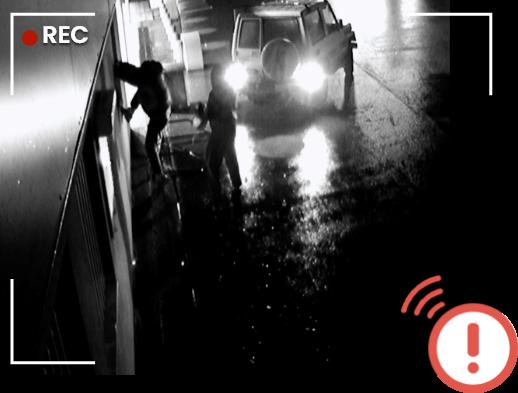 Tentative intrusion vidéo