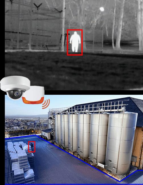 Lutte intrusion site industriel