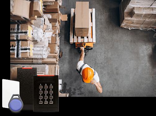Sécurisation des accès pour les transporteurs et logisticiens