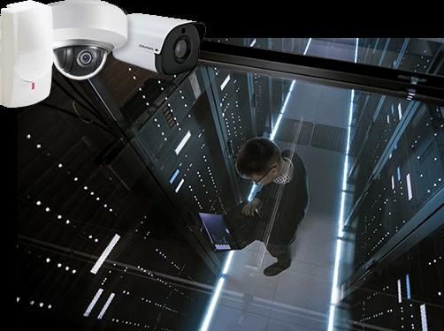 caméra de surveillance en Datacenter