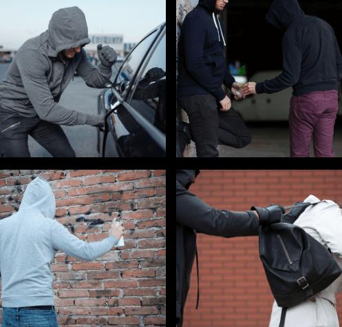 Différents délits