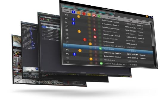 Plusieurs interfaces GlobalSecure