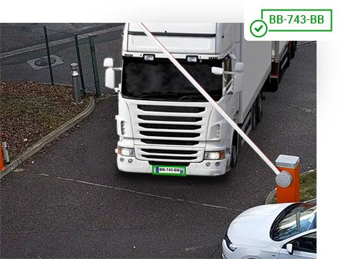 Gestion des flux de camion