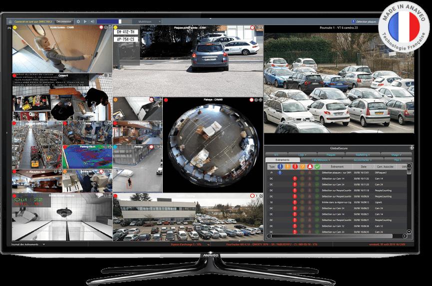 Logiciel de vidéosurveillance développé chez ANAVEO