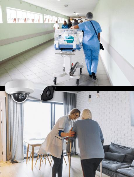Vidéoprotection des patients et du personnel soignant