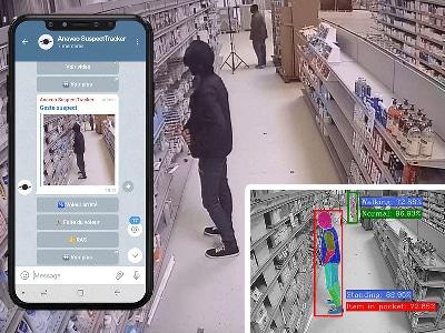 L'IA pour détecter les vols à l'étalage